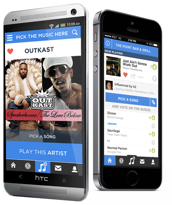 The #1 Social Jukebox App for iPhone and Android