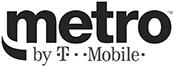 Rockbot's retail client metro PCS logo