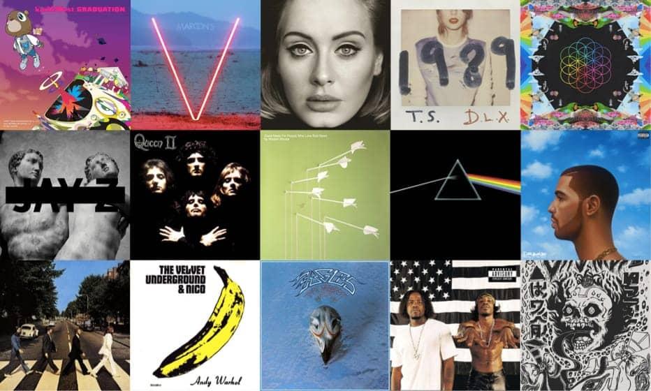 rockbot's music selection