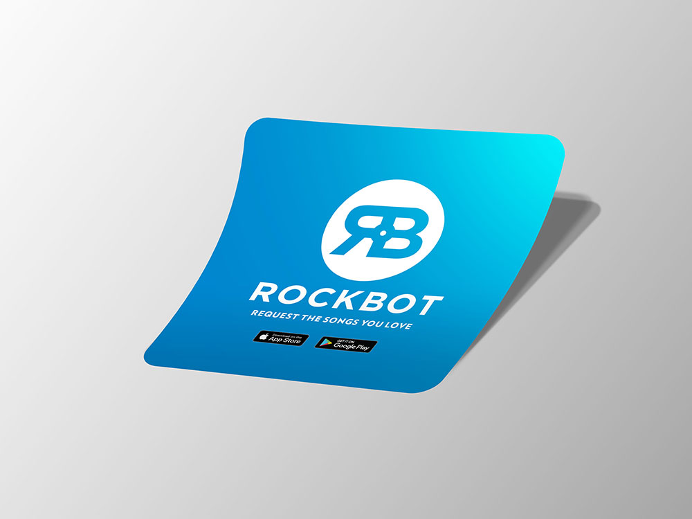 Rockbot Window Decal